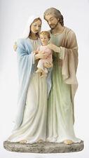 "Holy Family Jesus Mary Joseph - 9"" Veronese Resin Statue - Holy Religious Gift"