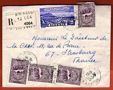 1975 - Enveloppe R.- Correspondance** Algérie Via france **Timbre Algérie