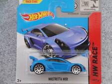 Hot Wheels 2014 #160/250 MASTRETTA MXR bleu Lot H Neuf Fonte 2014