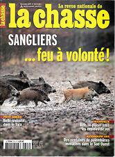 LA REVUE NATIONALE DE LA CHASSE .N ° 723 . déc 2007 . SANGLIERS / PALOMBIERES