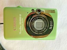 Canon PowerShot Digital ELPH SD1200 IS (GREEN)