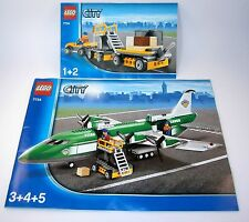 7734 LEGO City Cargo Plane 100% complete with instructions aircraft
