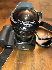 Sigma QX 16mm Fish Eye Lens M42 Screw Mount F 2.8 Filtermatic Multi