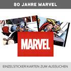 Panini - 80 Jahre Marvel -Sticker 1-192 + Cards C1-50 zum aussuchen/to choose