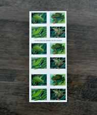 Mint Booklet Of 20 Forever Stamps #5395-5398 Frogs