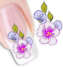 FD1617 Elegant 3D Design Beauty Nail Stickers Nail Art DIY Stickers Decals G