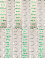 500 Pool Testtabletten RAPID zur Chlor- und pH-Wert Messung (je 250 St.)