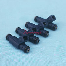 4pcs Flow Matched Fuel Injector Set For Vw Audi 18 Replace Bosch Oem 0280156065