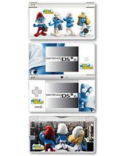 Autocollant Peau Vinyle SCHTROUMPFS pour Nintendo DSi XL