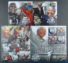 TURKS & CAICOS 2013 Nelson Mandela Politik Präsident Südafrika MNH