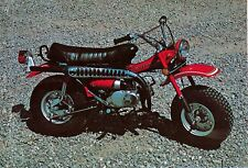 SUZUKI RV90 88CC PHOTO VINTAGE MINI BIKE MINICYCLE