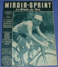 MIROIR SPRINT 09/07 1953 CYCLISME TOUR FRANCE HASSENDORFER VOORTING MALLEJAC