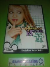 HANNAH MONTANA SOUS LES FEUX DE LA RAMPE DISNEY  DVD