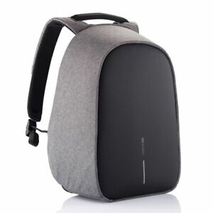 XD Design Anti Theft Travel Laptop Tablet Backpack with USB Port, Grey