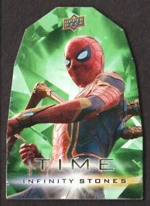 2018 Avengers Infinity War Infinity Stones Time Die-Cuts #GT4 Iron Spider