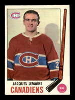 1969 O-Pee-Chee #8 Jacques Lemaire  EXMT+ X1616595