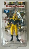 Justice League International Booster Gold Action Figure New w/ Crease DC Direct