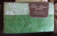 Vtg BILL BLASS Springmaid King Flat Cotton Percale Sheet NEW