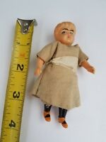 Miniature Antique Plastic Doll German