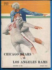 Chicago Bears Original Vintage NFL Programs