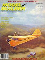Model Builder Magazine December 1987 R/C Blimp Gypsy O.T. Peanut R.M.-12 m993
