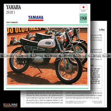 #088.14 YAMAHA 250 DT 1 1968 Fiche Moto Motorcycle Card