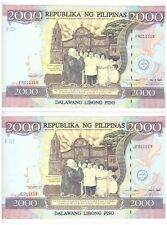 1998 PHILIPPINES 2000 peso Centennial Commemorative FR011119 JE011119 P 189 UNC
