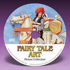 FAIRY TALE ART - Over 2000 Illustrations on DVD! * Colour Plates * Pen & Ink