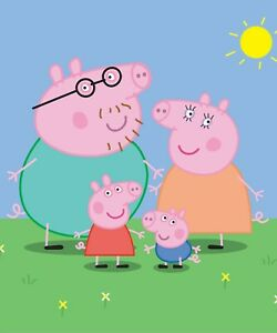 Peppa Pig Poster Bedroom Wall Art Printed on A3 Gloss Photo Paper!
