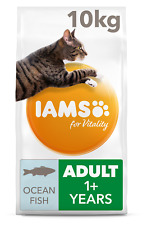 Iams for Vitality With Ocean Fish Adult Dry Cat Food - 10kg