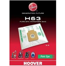 HOOVER Genuine H63 Pure Epa Vacuum Cleaner 4 x Dust Bags Bag