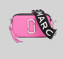 BNWT Marc Jacobs Bright PINK Multi Snapshot Small Camera Crossbody Bag