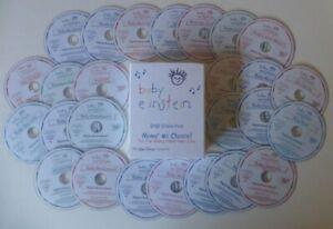 disney BABY EINSTEIN dvd set COLLECTION like playschool 26 DISKS educational