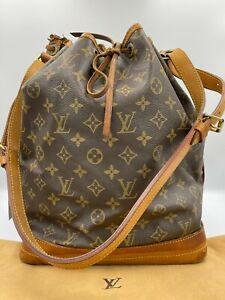 Auth Louis Vuitton Monogram Noe M42224 Shoulder bag NS9-0185