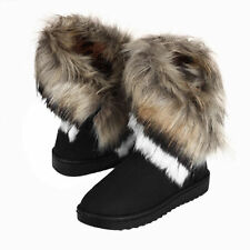 Women Fox Fur Warm Autumn Winter Snow Boots Shoes Short Casual Bootss Lot