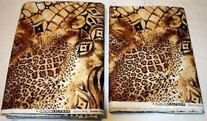 "Fabric Robert Kaufman Quilting ""Native Arts"" Screen Print D#7532 4 1/3yds & 40"""