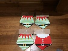 Christmas Dribble Bibs Large Bundle Great Designs 100% Cotton Quality Tested New