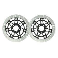Front Brake Rotor Discs For Kawasaki ZZR250 / EX250 H 1990-1995 91 92 93 94 95