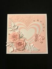 WEDDING, ANNIVERSARY, BIRTHDAY, MOTHER'S DAY OR SPECIAL OCCASION HANDMADE CARD