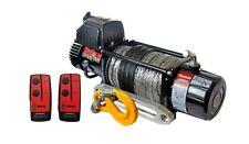 GUERRIERO Spartano 12000 LB (ca. 5443.11 kg) 12 V verricello con corda sintetica e Wireless Remote