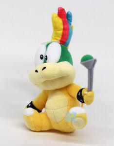 "GENUINE Super Mario Bros Mario Kart Live Lemmy Koopa Plush 8"" Little Buddy 1340"