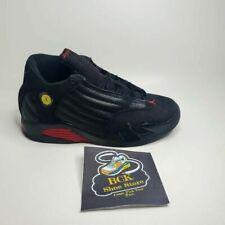 Air Jordan Boys 14 Retro Last Shot GS Basketball Shoes Black 312092-003 3 Y