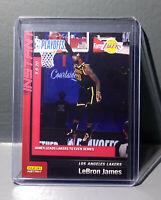 Lebron James 2019-20 Panini NBA Playoffs Instant #186 Basketball Card 1/191