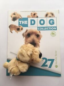 THE DOG COLLECTION 27 Norfolk Terrier (opened) Magazine & Toy good condition