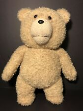 """Large Talking TED 15"""" Plush Moving Mouth PG Rated"""