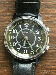 Poljot Vintage Russian Alarm Watch