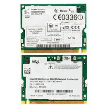 Intel Pro/Wireless 2200BG 802.11B/G Mini PCI WIFI Network Card for Dell Toshiba