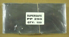 SUPERSAFE - 100 / PACK #10 COVER SIZE POLY HOLDER - HEAVY WEIGHT  #SS-PP290