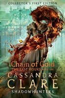 The Last Hours Chain of Gold by Cassandra Clare~Hardcover~New~2020