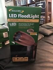 Malibu LED Floodlight Low Voltage Real Copper 8421-2605-01 New!
